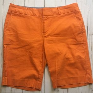 BANANA REPUBLIC Factory Hampton Fit Shorts Orange
